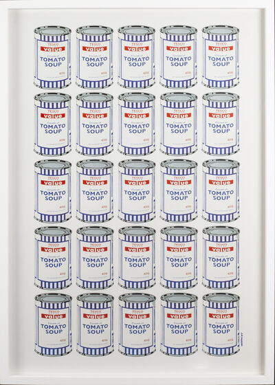 Banksy, 'Tesco Soup Cans', 2010