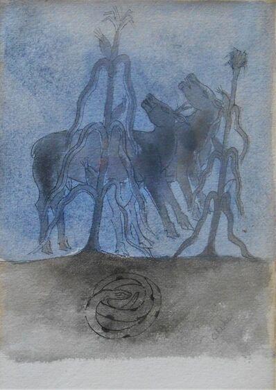 Francisco Toledo, 'Adan y Eva', ca. 1970