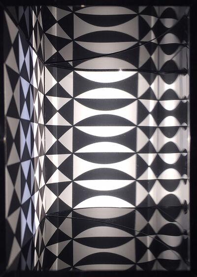 Julio Le Parc, 'Image virtuel par déplacement', 2016