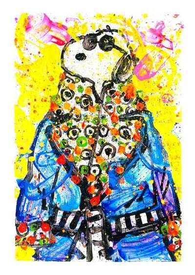 Tom Everhart, 'Snoop Dog Wearing Jim Dine ', 2018