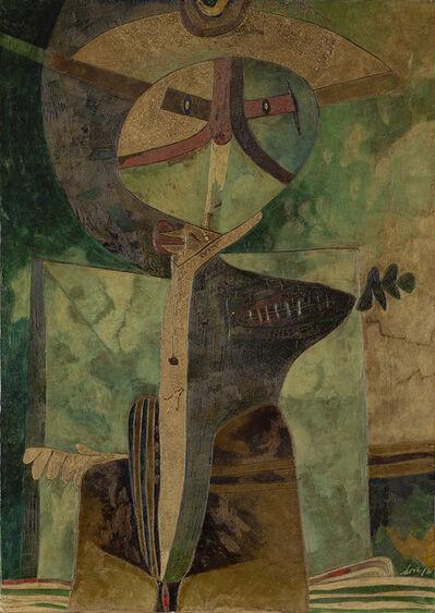 Gianni Dova, 'Personaggio verde', 1961