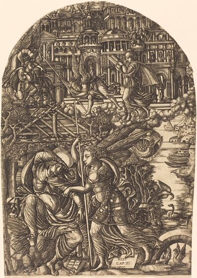 Jean Duvet, 'The Angel Shows Saint John the New Jerusalem', 1546/1556