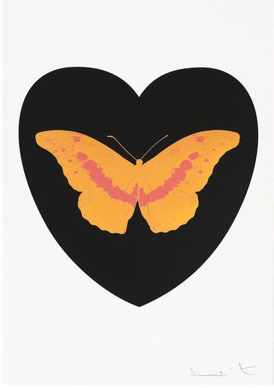 Damien Hirst, 'I Love You - Black/Cool Gold/Loganberry', 2015
