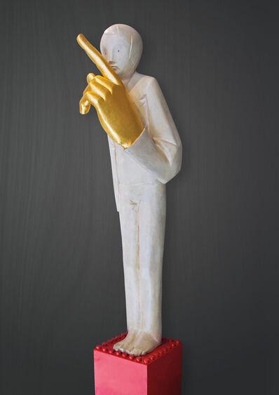 Ivan Lardschneider, 'Schweigen ist Gold', 2016