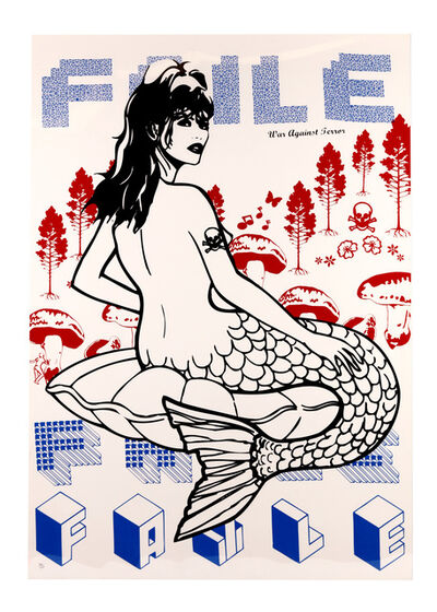 FAILE, 'Mermaid (War Against Terror)', 2007