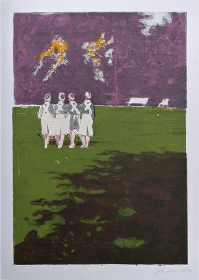 Helena Parada-Kim, 'Schwestern im Park', 2009