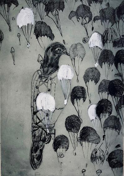 Lisa Sewards, 'White Parachutes', 2019
