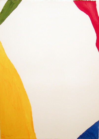 Helen Frankenthaler, 'Wind Directions', 1970
