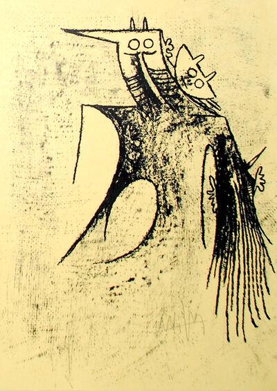 Wifredo Lam, 'Erker-Treffen 3', 1978