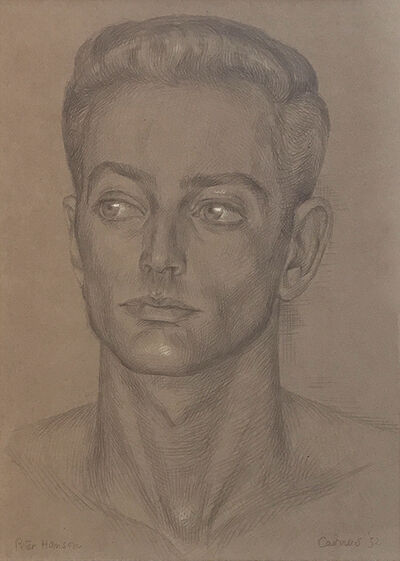 Paul Cadmus, 'Peter Hanson', 1952
