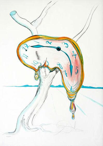 "Salvador Dalí, '""Tear of Time"" Hand Signed Salvador Dali Lithograph', 1931"