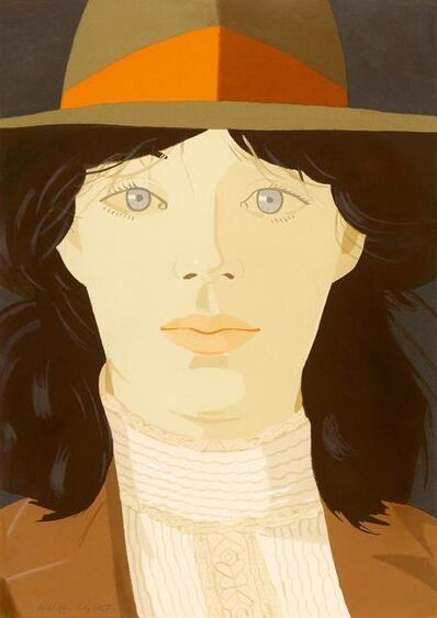 Alex Katz, 'The orange Band', 1979