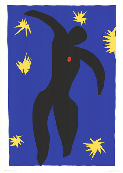 Henri Matisse, 'The Fall Of Icarus', 1994