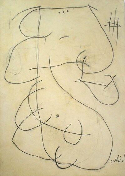Joan Miró, 'Personnage'