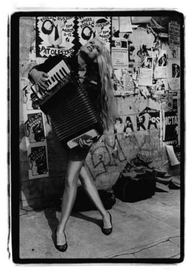 Amy Arbus, 'Phoebe Legere, Accordian', 1980-1990