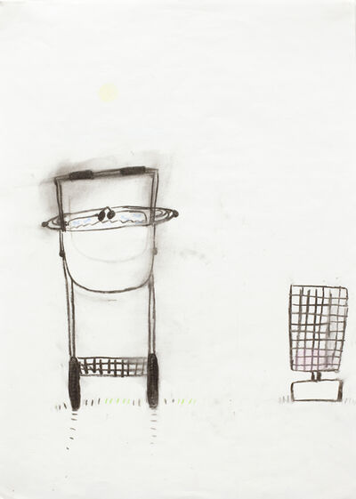 Helene Billgren, 'barnvagn i Indien', 1999