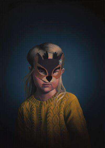 Erno Enkenberg, 'Deer Girl', 2017