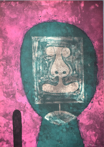 Rufino Tamayo, ' Green Head, from: 15 Lithographs | Cabeza en verde: 15 litografías', 1973