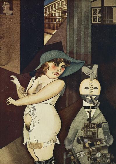 George Grosz, 'Daum Marries', 1920