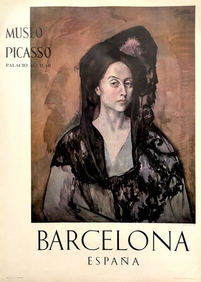 Pablo Picasso, 'Museo Picasso Barcelona Poster (Portrait of Madame Canals)', 1966