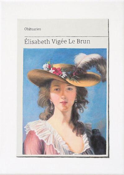 Hugh Mendes, 'Obituary: Élisabeth Vigée Le Brun ', 2019