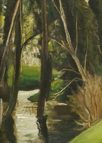 John Aldridge, 'TREES IN A STREAM'