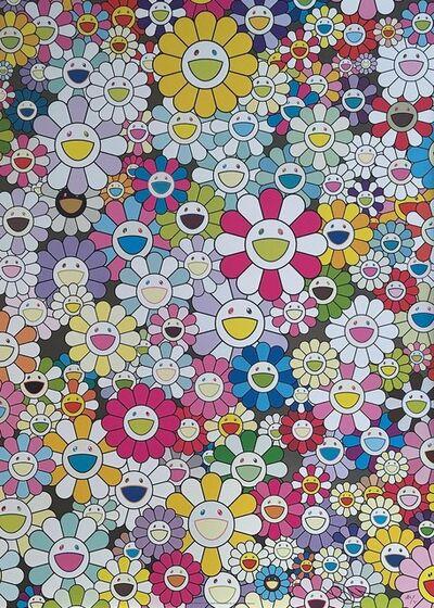 Takashi Murakami, 'An Homage to Yves Klein Multicolor', 2012