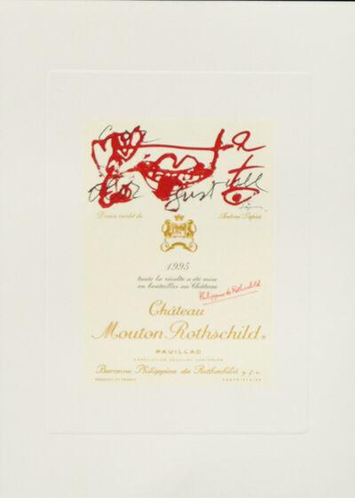 Antoni Tàpies, 'Dessin inedite de Antoni Tapies ', 1995