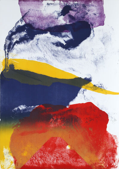 Paul Jenkins, 'Untitled ', 1987