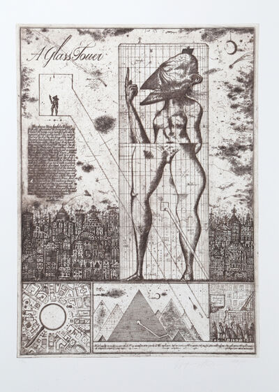 Brodsky & Utkin, 'Glass Tower II', 1990