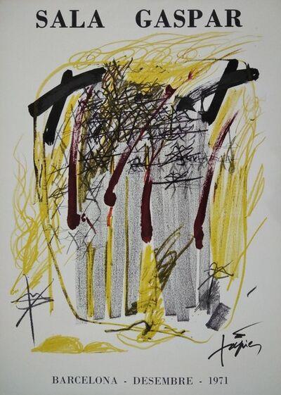 Antoni Tàpies, 'Sala Gaspar. Desembre 1971', 1971