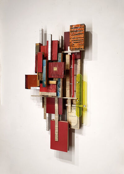 Carlos Sánchez Alonso, 'Words with colored shadows', 2020