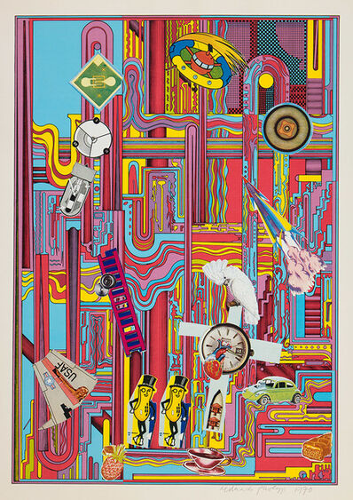Eduardo Paolozzi, 'Mr Peanut (Red)', 1970