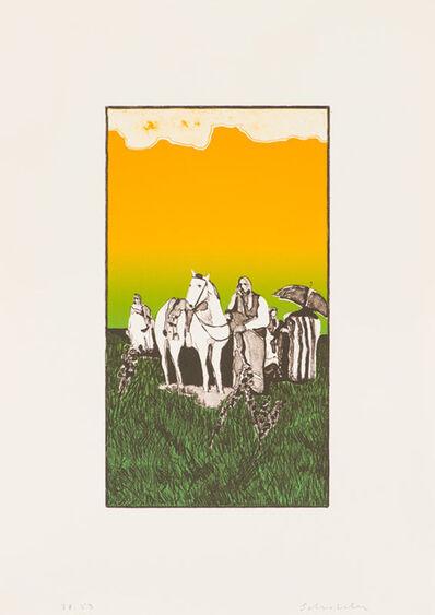 Fritz Scholder, 'Indian Landscape (Third State) (T: 74-704b)', 1974