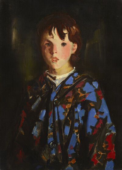 Robert Henri, 'Dark Bridget Lavelle', 1928