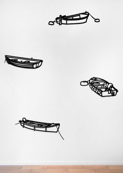 Julian Opie, 'Nature 1 - Boats', 2015