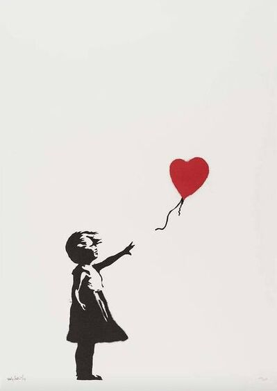 Banksy, 'Girl With Balloon (Unsigned) ', 2004