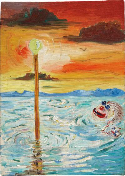 George Condo, 'Untitled (Clown)', 1984