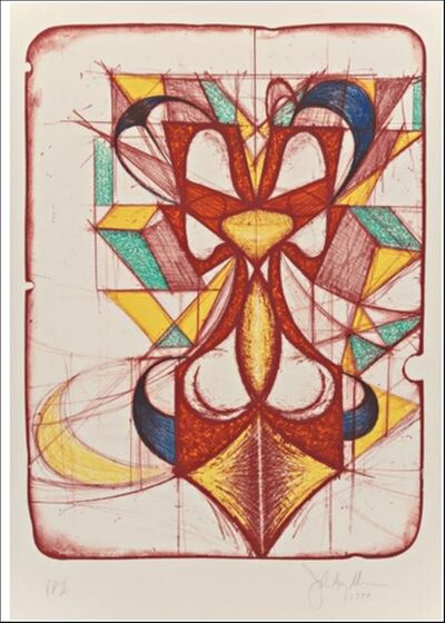 John Newman (b.1952), 'Color Double', 1990