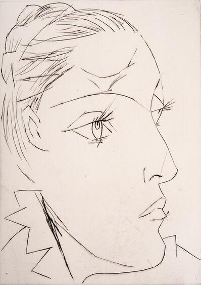Pablo Picasso, 'Portrait of Dora Maar Au Chignon', 1961