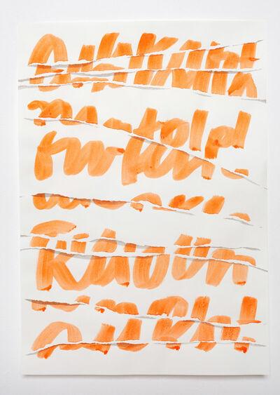 Friederike Feldmann, 'Bochumer Notizen (klein)', 2021
