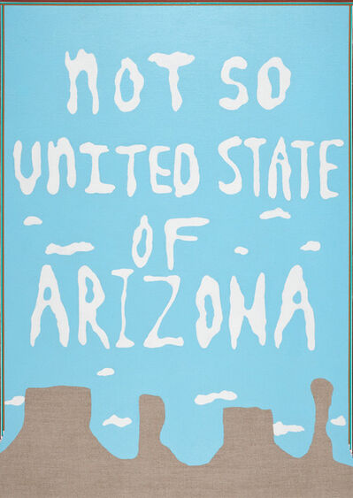Carrie Marill, 'Not so United State of Arizona', 2012