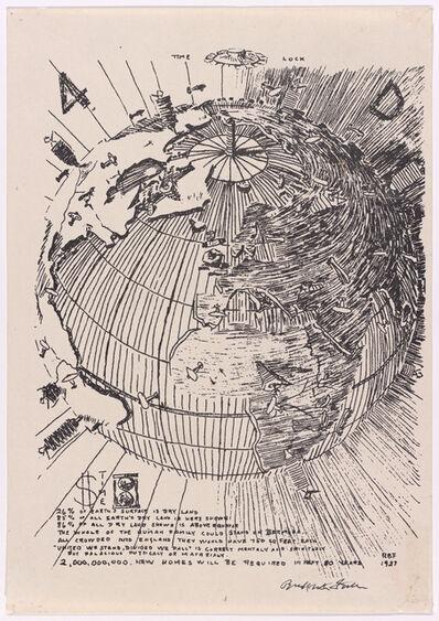 R. Buckminster Fuller, '4D Time World, from the 4D Time Lock portfolio', 1928