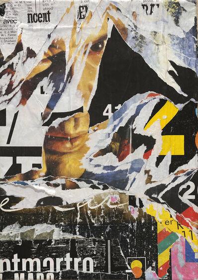 Jacques Villeglé, 'Boulevard Haussmann', 1988