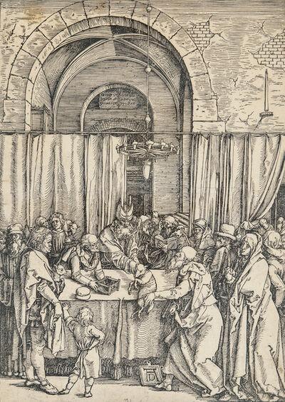 Albrecht Dürer, 'Joachim's Offering Rejected, from The Life of the Virgin', 1511