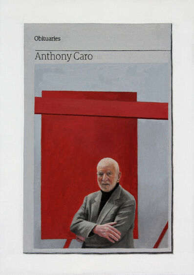 Hugh Mendes, 'Obituary: Anthony Caro', 2015