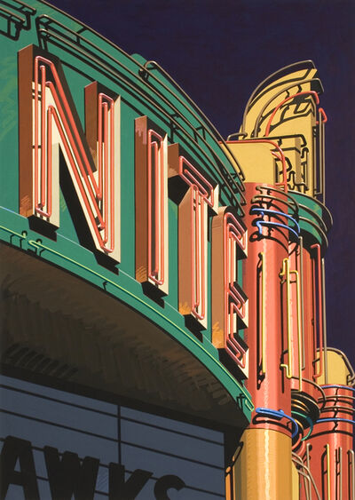 Robert Cottingham, 'NITE', 1985