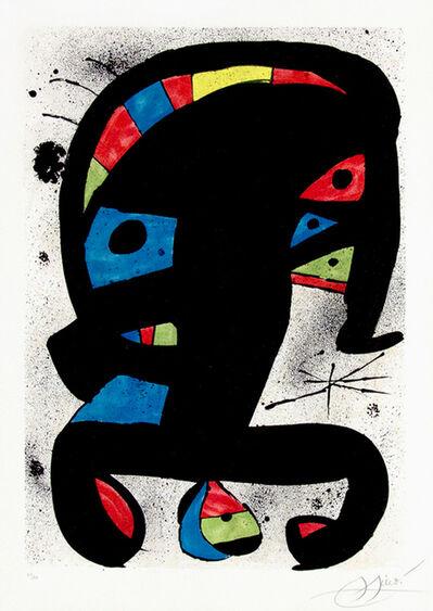 Joan Miró, 'El Rei Garrell', 1979
