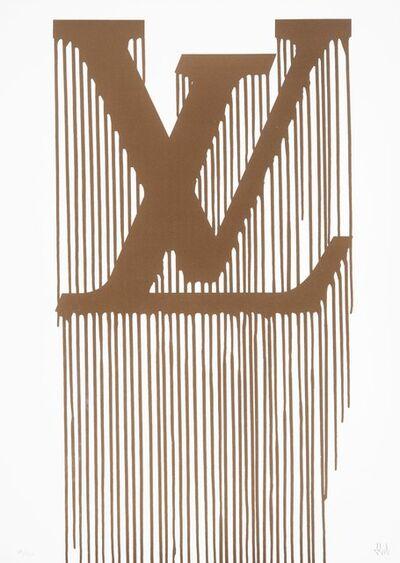 Zevs, 'Liquidated Louis Vuitton', 2011