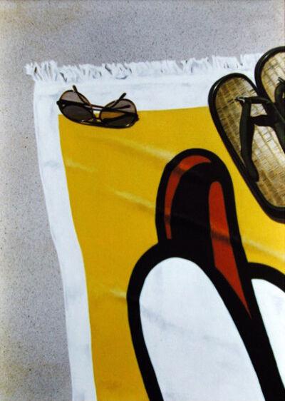 Guy Diehl, 'Roy Lichtenstein Towel', 1980